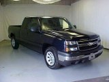 2006 Dark Blue Metallic Chevrolet Silverado 1500 Extended Cab #17413909