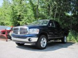 2007 Patriot Blue Pearl Dodge Ram 1500 SLT Quad Cab 4x4 #17416415