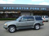 2001 Spruce Green Metallic Ford Explorer Limited 4x4 #17411125