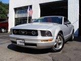 2006 Satin Silver Metallic Ford Mustang V6 Premium Convertible #17409640