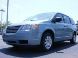 2010 Clearwater Blue Pearl Chrysler Town & Country LX #17406843