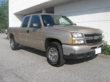 2006 Sandstone Metallic Chevrolet Silverado 1500 LS Extended Cab 4x4 #17411112