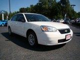 2007 White Chevrolet Malibu LS Sedan #17407019