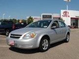 2007 Ultra Silver Metallic Chevrolet Cobalt LS Sedan #17407413