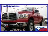 2006 Flame Red Dodge Ram 1500 SLT Quad Cab 4x4 #17413543