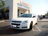 2008 White Chevrolet Malibu LS Sedan #17414385