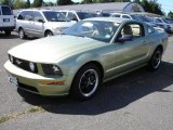 2006 Legend Lime Metallic Ford Mustang GT Premium Coupe #17406279