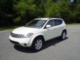 2007 Glacier Pearl White Nissan Murano S AWD #17415584