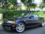 2001 Orient Blue Metallic BMW 3 Series 330i Convertible #17503666