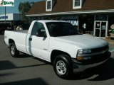 2002 Summit White Chevrolet Silverado 1500 Work Truck Regular Cab 4x4 #17501627