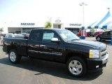 2009 Black Chevrolet Silverado 1500 LT Extended Cab #17506830