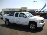 2009 Summit White Chevrolet Silverado 1500 LT Extended Cab #17506829