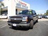 2004 Dark Gray Metallic Chevrolet Silverado 1500 LS Crew Cab #17506843