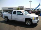2009 Summit White Chevrolet Silverado 1500 LT Extended Cab #17506832
