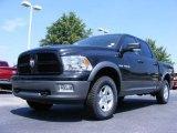 2009 Brilliant Black Crystal Pearl Dodge Ram 1500 TRX4 Crew Cab 4x4 #17406839