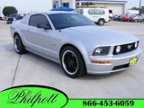 2007 Satin Silver Metallic Ford Mustang GT Premium Coupe #17409650