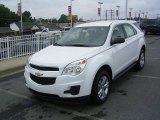 2010 Summit White Chevrolet Equinox LS #17548273