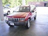 2002 Inferno Red Tinted Pearlcoat Jeep Grand Cherokee Laredo 4x4 #17548112