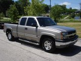 2003 Light Pewter Metallic Chevrolet Silverado 1500 LS Extended Cab 4x4 #17547867