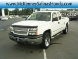 Summit White Chevrolet Silverado 1500 in 2004