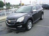 2010 Black Chevrolet Equinox LT #17548276