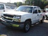 2005 Summit White Chevrolet Silverado 1500 LS Crew Cab 4x4 #17547863