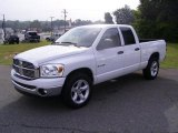 2008 Bright White Dodge Ram 1500 Big Horn Edition Quad Cab #17548145