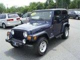 2006 Midnight Blue Pearl Jeep Wrangler Sport 4x4 #17548028