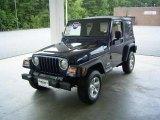 2006 Midnight Blue Pearl Jeep Wrangler X 4x4 #17548114