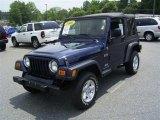 2006 Midnight Blue Pearl Jeep Wrangler X 4x4 #17547988