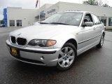 2005 Titanium Silver Metallic BMW 3 Series 325xi Sedan #17620398