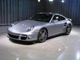 2008 GT Silver Metallic Porsche 911 Turbo Coupe #176277