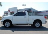 2007 Super White Toyota Tundra Regular Cab #17631993