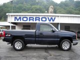 2005 Dark Blue Metallic Chevrolet Silverado 1500 Regular Cab 4x4 #17626422