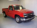 2007 Victory Red Chevrolet Silverado 1500 Classic Work Truck Regular Cab #17634635
