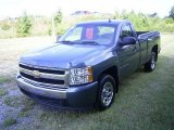 2008 Blue Granite Metallic Chevrolet Silverado 1500 LS Regular Cab #17638389