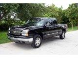 2003 Black Chevrolet Silverado 1500 LS Extended Cab 4x4 #17629552