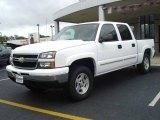 2006 Summit White Chevrolet Silverado 1500 LT Crew Cab 4x4 #17628612