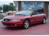 1999 Chrysler Sebring Deep Cranberry Pearl