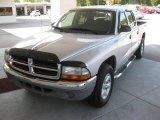 2004 Bright Silver Metallic Dodge Dakota SLT Quad Cab #17630238