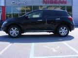 2009 Super Black Nissan Murano S #17631083
