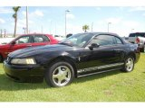 2001 Black Ford Mustang V6 Coupe #17631985