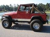 1988 Jeep Wrangler Vivid Red Metallic
