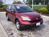 2007 Tango Red Pearl Honda CR-V LX 4WD #17638075