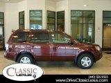 2007 Dark Cherry Pearl Honda Pilot EX-L 4WD #17637112
