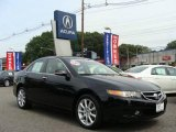 2006 Nighthawk Black Pearl Acura TSX Sedan #17622879