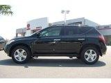 2005 Super Black Nissan Murano SL AWD #17632022