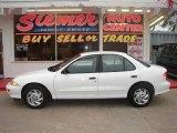 1999 Bright White Chevrolet Cavalier Sedan #17697789