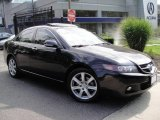 2005 Nighthawk Black Pearl Acura TSX Sedan #17693492