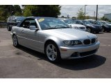 2004 Titanium Silver Metallic BMW 3 Series 325i Convertible #17699733